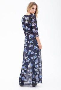 1. chiffon kimono maxi dress, forever 21.
