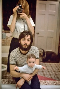linda mccartney (with paul & mary)