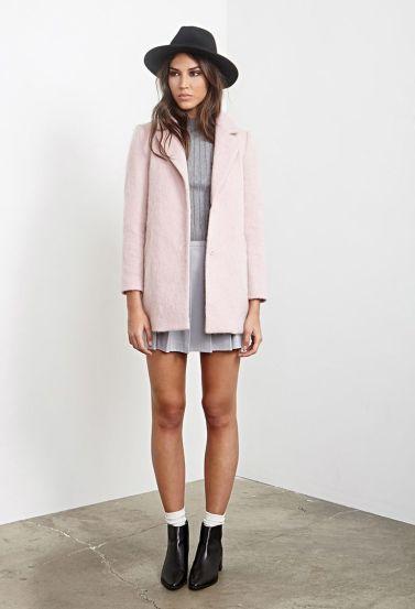 longline coat via forever 21.