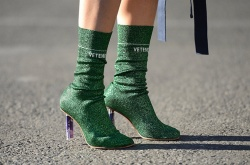 vetements sock boots via pinterest.