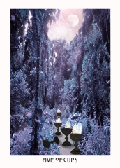 starchild tarot 5 of cups.