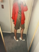 vintage coat, vintage dress, celine shoes.