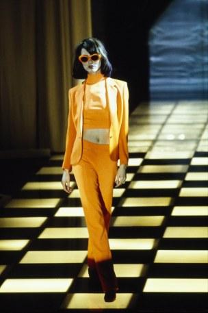 Versace Spring 96 Via Vogue