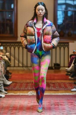 Maryam Nassir Zadeh FW19 via Vogue.